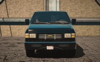Saints Row IV variants - Anchor CS Van - front