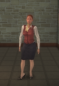 Stewardess - white - character model in Saints Row 2