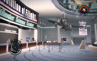Stilwater Science Center in Saints Row 2 - customer service and Wolverine