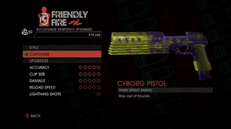 Weapon - SMGs - Rapid-Fire SMG - Upgrades