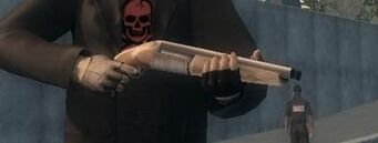 12 Gauge being wielded in Saints Row 2