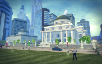Adept Way in Saints Row 2 - courthouse