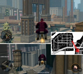 Barnstorming 14 location in Saints Row The Third