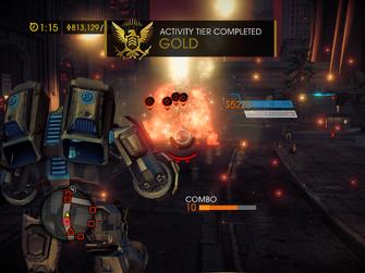 Mech Suit Mayhem - Gold Activity Tier Completed