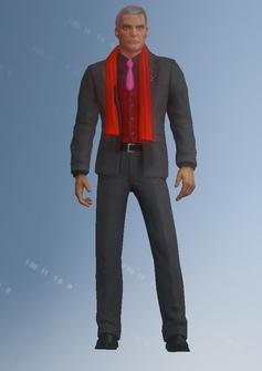 Phillipe Loren - character model in Saints Row IV