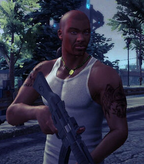 Playa from Saints Row 2 in Saints Row IV