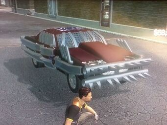 Ruckus - front right in Saints Row 2
