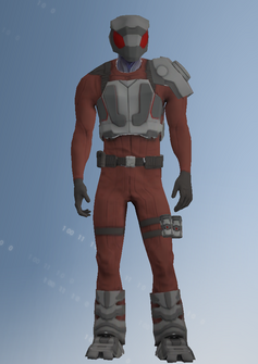 Zin - alien soldier d - character model in Saints Row IV
