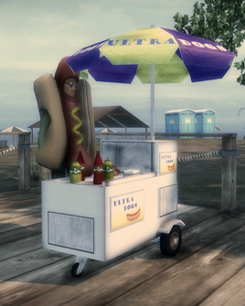 Action Node - hot dog stand