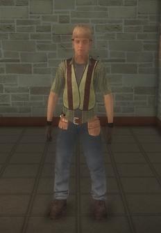 Construction - hispanic construction - character model in Saints Row 2