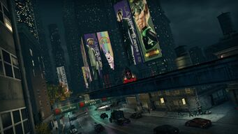 Downtown at night - Saints Row The Third promo