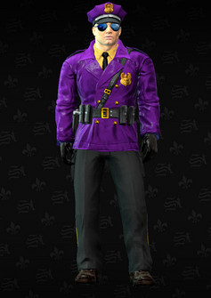 Gang Customization - Cop 1 - Iory - in Saints Row The Third