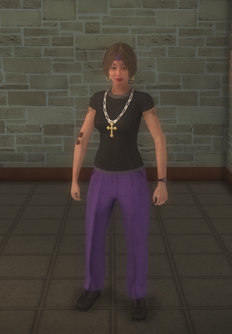 Gang Customization - Gangster - female lieutenant - white