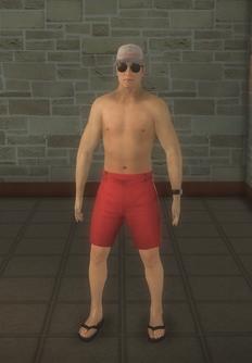 Lifeguard - asian - character model in Saints Row 2