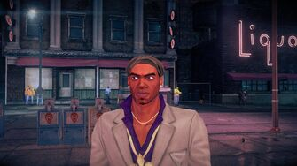 Pierce - face in standard outfit in Saints Row IV
