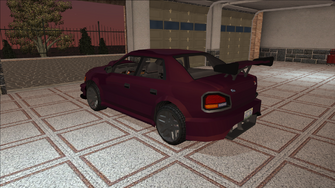 Saints Row variants - Voxel - Racer 01 - rear left