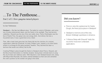 Saints Row website - History - To the Penthouse