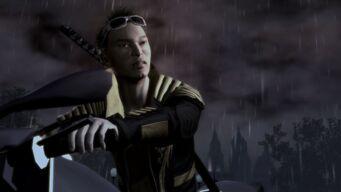 Shogo Akuji in Eulogy cutscene