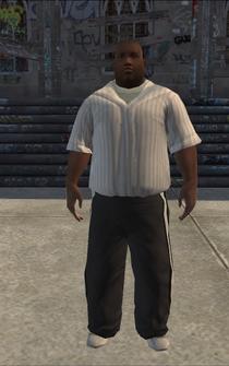 SportsFan - black - character model in Saints Row