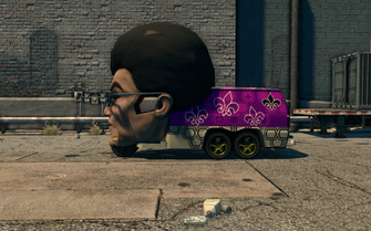 Gat Mobile - left in Saints Row The Third