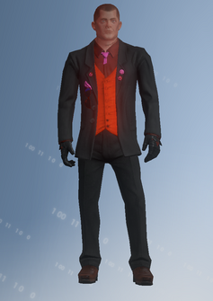 Morningstar parachuter 2 - Gus - character model in Saints Row IV