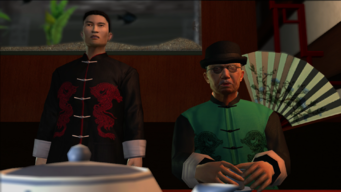 Mr. Wong and his Translator in Saints Row