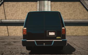 Saints Row IV variants - Anchor CS Van - rear