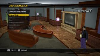 Saints Row Mega Condo - Crib Customization