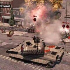 Panzer Vandalismus: SR3