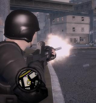 AR-50 Firing