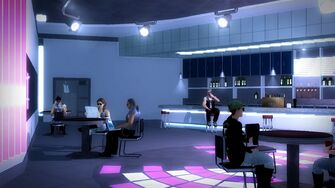 Club Koi - interior upstairs bar