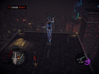 Dancing Queen - chasing tanya to rooftop