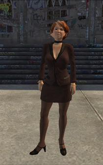 Escort - Jenna - character model in Saints Row