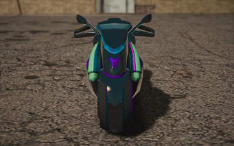 Saints Row IV variants - X-2 Phantom glitch - front