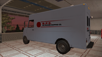 Saints Row variants - Delivery Truck - BPS - rear left
