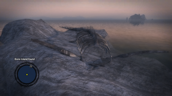 Secret Area - Bone Island found