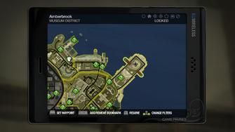 Secret Area - Parthenon Ruins on map
