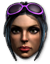Homie icon - Viola in Saints Row The Third