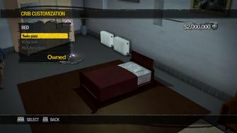 Hotel Penthouse - Crib Customization - Bed - Twin size