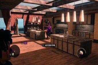 Saints HQ - kitchen