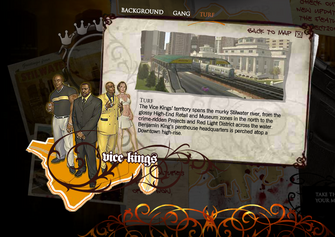 Saints Row promo website - Vice Kings Turf