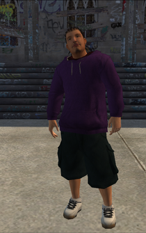 Saints male Thug1-01b - lc truck - character model in Saints Row