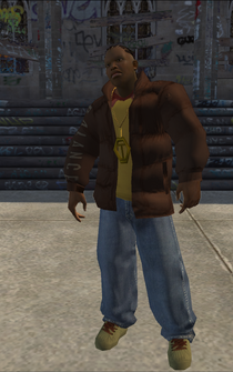 Vice Kings male Killa1-03 - black - character model in Saints Row