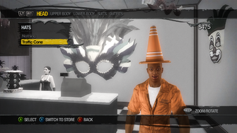 Wardrobe - Head - Hats - Traffic Cone Hat unlockable
