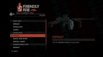 Weapon - SMGs - Heavy SMG - Gangland - Default
