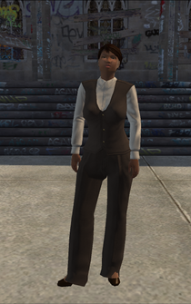 BusinessWoman-02 - black - character model in Saints Row