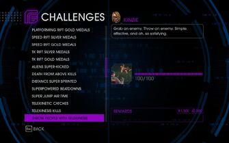 Challenge 35 Throw People With Telekinesis