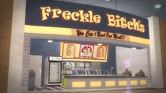 Freckle Bitch's in Rounds Square Shopping Center