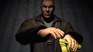 Gold Plated GDHC .50 in Saints Row trailer