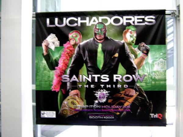 Luchadores - E3 poster
